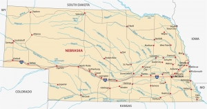 Nebraska moving map